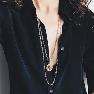 Black Everlane perfect fit shirt S